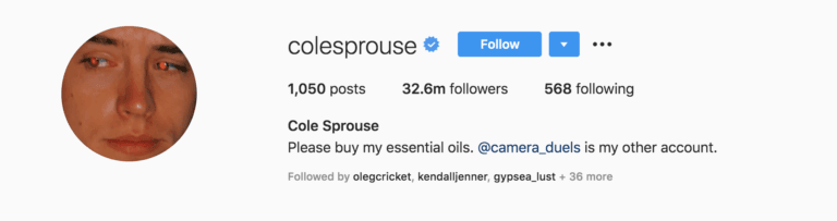 COLE SPROUSE-BEAUTYMAGIC